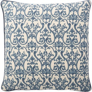 Andrew Charles 20-inch Ornamental Print Throw Pillow