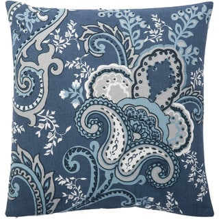 Andrew Charles 20-inch Floral Print Throw Pillow