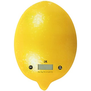 Kalorik Lemon Digital Kitchen Scale