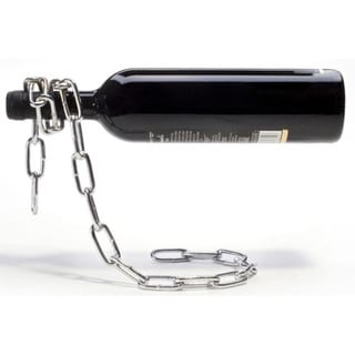 Illusionz Magic Chain Wine Bottle Holder