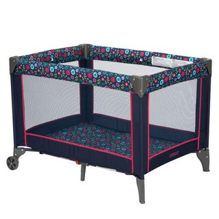 Cosco Funsport Play Yard in Flower Garden