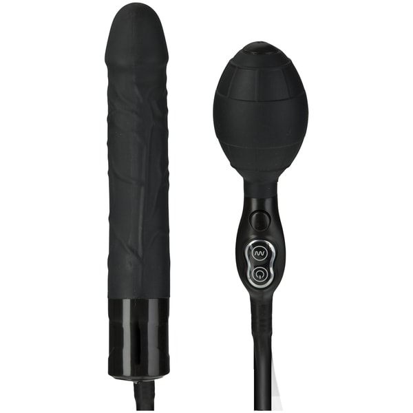Titanmen Tools Vibrating Inflatable Wonder Latex Waterproof 6-inch Anal Vibe 17555085