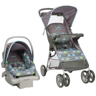Cosco Lift and Stroll Travel System in Elephant Circus