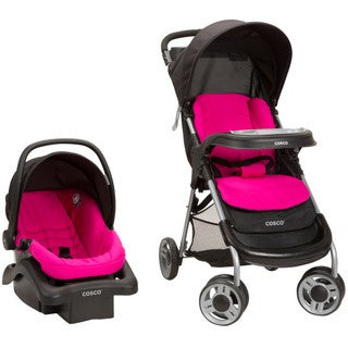Cosco Lift and Stroll Travel System in Very Berry