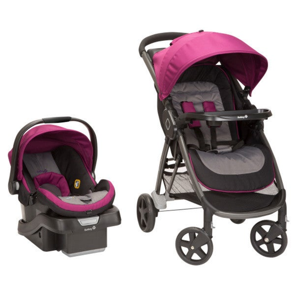 Safety 1st Step and Go Travel System in Magenta Rose