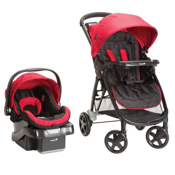 Safety 1st Step and Go Travel System in Scarlet Red