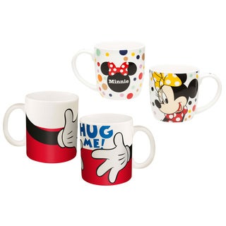 Mickey and Minnie Coffee Mug Collection (2 Pack)
