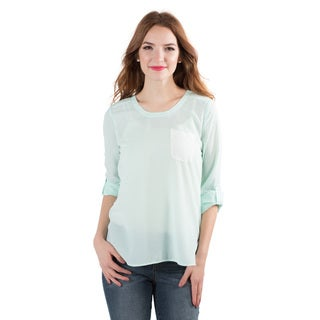 DownEast Basics Women's Chit Chat Blouse