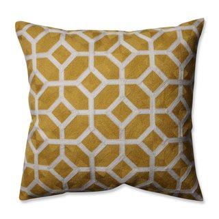 Pillow Perfect Eight Citron 16.5-inch Throw Pillow
