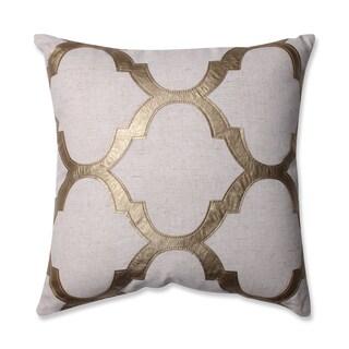 Pillow Perfect Glitz Gold 16.5-inch Throw Pillow
