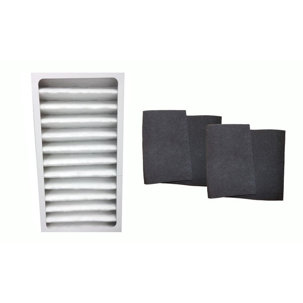Replacement Air Purifier Filter & 2 Carbon Filters, Fits Hunter 30963 30710 30711 30730, Compatible with Part 30963 & 30901 17565294
