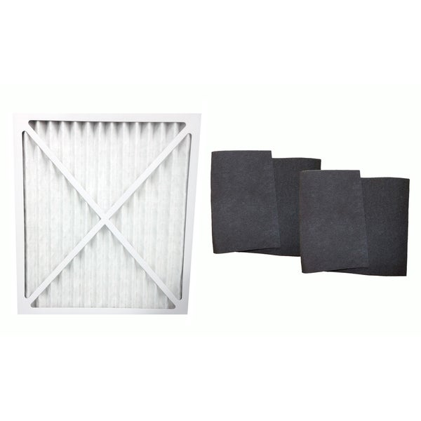 Hunter 30212 30213 30240 30241 30251 Air Purifier Filter and 2 Carbon Pre Filters, Part # 30931 17565297