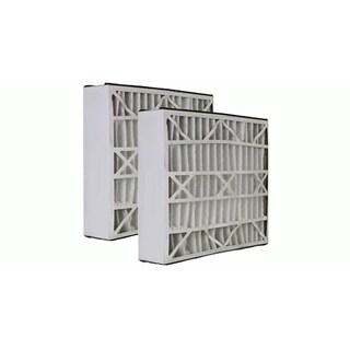 2pk Replacement 20x25x5 MERV-8 HVAC Furnace Filters, Fits Honeywell F100, F200 & SpaceGard, Compatible with Part FC100A1037