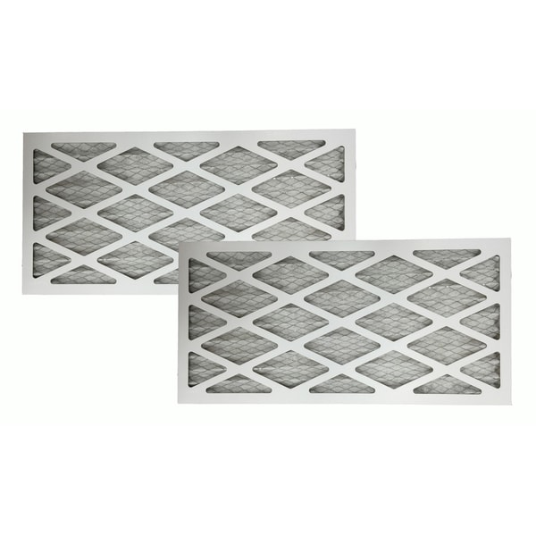 2 MERV 11 Allergen Air Furnace Filters 16x25x1 17565361