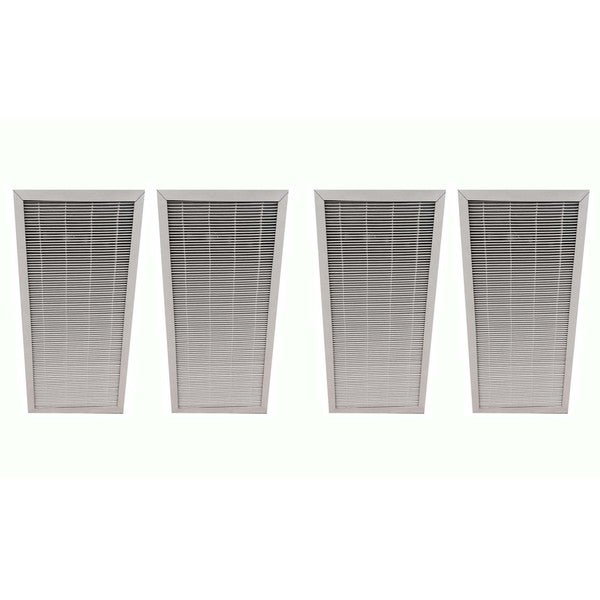 4 Blueair Air Purifier Filters Fit 400 Series Air Purifiers