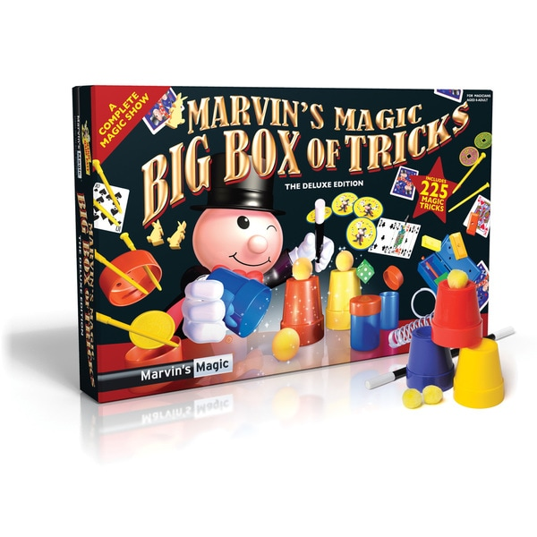 Marvin's Amazing Big Box Of 225 Magic Tricks