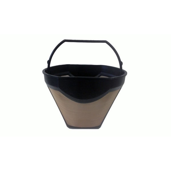 Krups Washable Gold Tone Cone Coffee Filter; Fits KM720D50, KT720D50, 253, 466, 467, 458, 144
