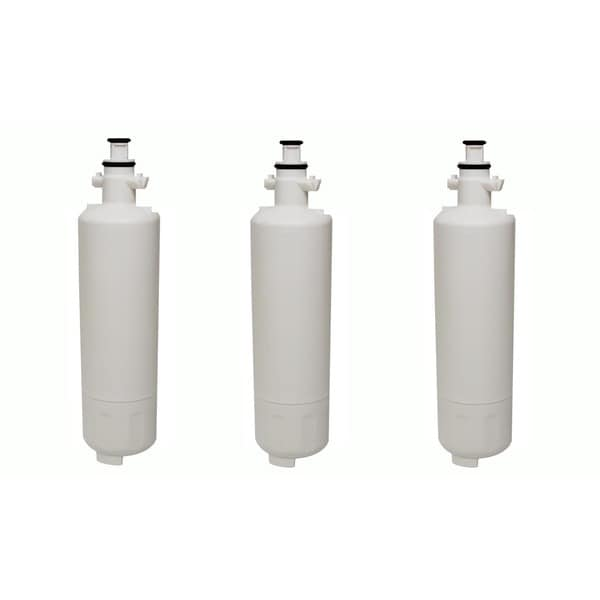 3 LG LT700P (RFC1200A) Refrigerator Water Purifier Filters Fit LG ADQ36006101 and ADQ36006101-S 17565439
