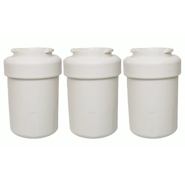 3 GE Refrigerator Water Purifier Filters Fit GE MWF GWF HWF 46-9991 WSG-1 WF287 and EFF-6013A 17565443