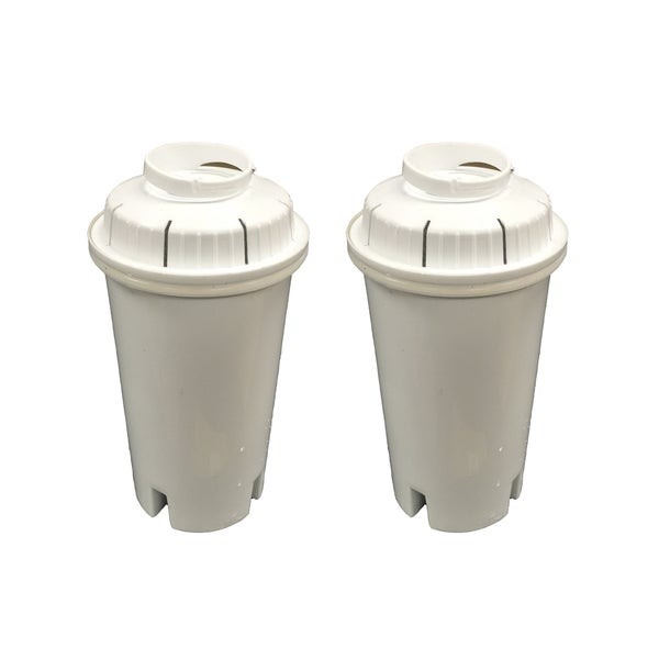 2 Brita Water Filter Replacements Fit Pitchers and Dispensers
