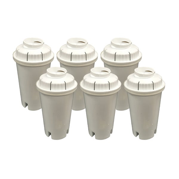 6 Brita Water Filter Replacements Fit Pitchers and Dispensers 17565452