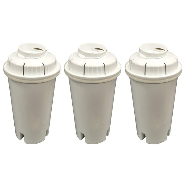 3 Brita Water Filter Replacements Fit Pitchers and Dispensers
