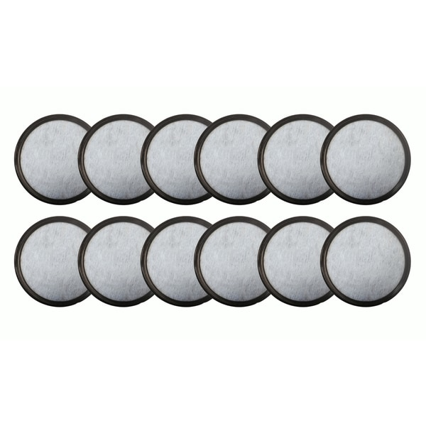 12pk Replacement Charcoal Water Filters, Fits Mr. Coffee WFF-3 Machines, Compatible with Part 113035-001-000 17565460