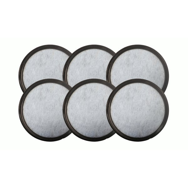 6pk Replacement Charcoal Water Filters, Fits Mr. Coffee WFF-3 Machines, Compatible with Part 113035-001-000 17565461