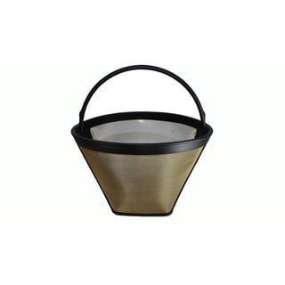 Melitta 46894 10-Cup Thermal Washable Coffee Filter, Fits #4 Cone