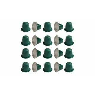 20 Replacement Coffee Capsules for Use in Most Nespresso Machines, The Morning Grind is Designed & Engineered by Crucial Coffee