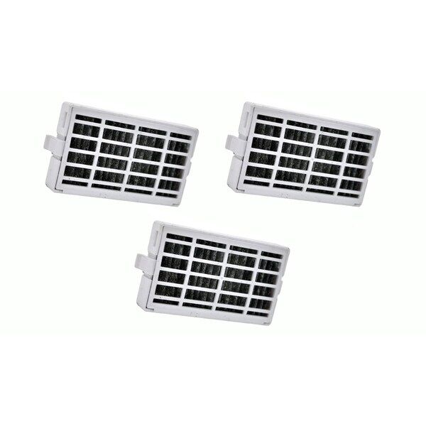 4 Whirlpool Air1 Refrigerator Air Filters, Part # W10311524, 2319308 and W10335147 17565516