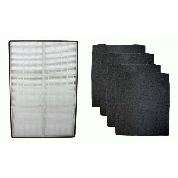 Crucial Air HEPA Air Purifier Filter and 4 Carbon Filters Fit Whirlpool AP250 and AP150 Part # 1183051K 17565518