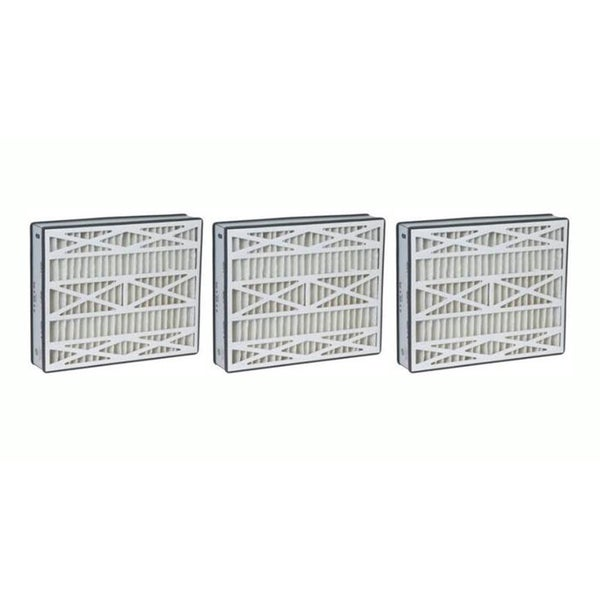 3 Trion Air Bear 16x25x3 Merv 8 Replacement Air Filters, Part # 255649-101 17565531