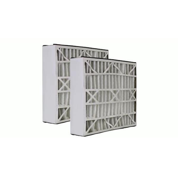 2 Trion Air Bear Filters 255649-102 Pleated Furnace Air Filter 20x25x5 MERV 8 17565534