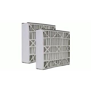 2 Trion Air Bear Filters 255649-102 Pleated Furnace Air Filter 20x25x5 MERV 8