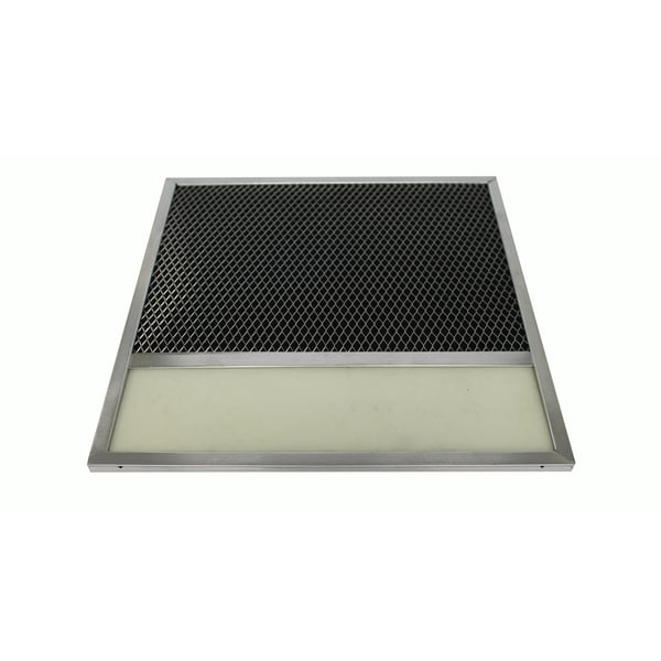 Nutone Aluminum Hood Vent Filter With Charcoal Pad, Part # BP57