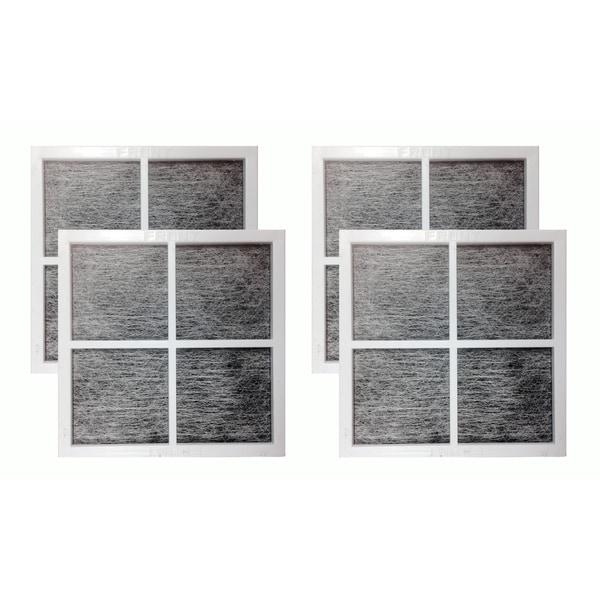 Fits LG LT120F Air Purifying Fridge Filters, Part # 9918 ADQ73334008 and ADQ73214404 (4 pack) 17565548