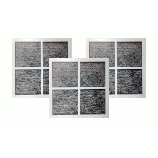 3pk Replacement Fridge Air Filters, Fits LG LT120F, Compatible with Part 9918, ADQ73334008 & ADQ73214404 17565549