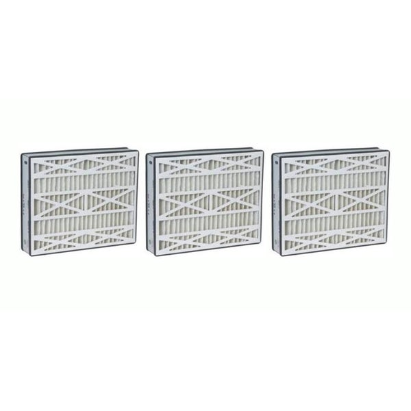 3 Lennox 16x25x3 Merv 8 Replacement Air Filters Fit X0581 17565551