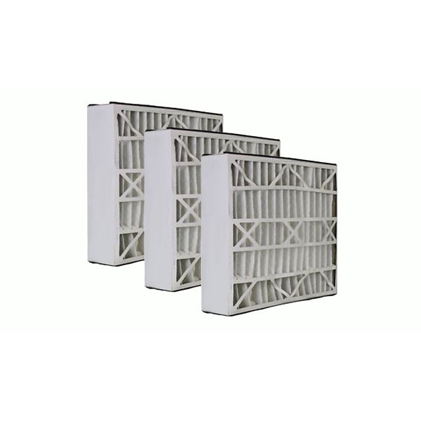 3 Lennox 20x25x5 Merv 8 Replacement Air Filters Fit X6673 17565553