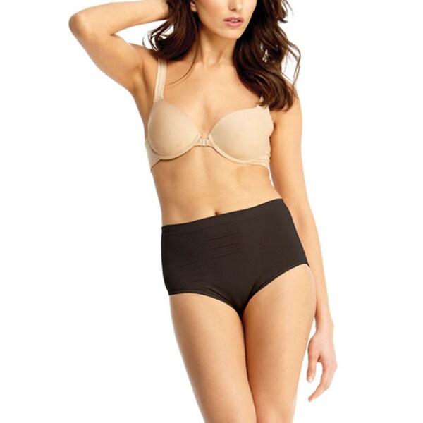 Memoi Women's High Cut Control Panty Shaper