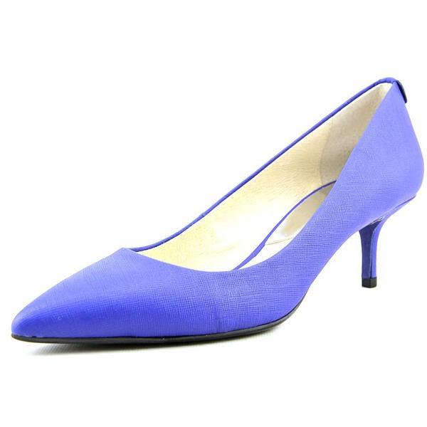 Michael Michael Kors Women's 'Flex Kitten Pump' Leather Dress Shoes