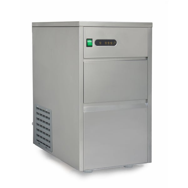 SPT 44-pound Automatic Stainless Steel Upright Ice Maker - 18368997 ...