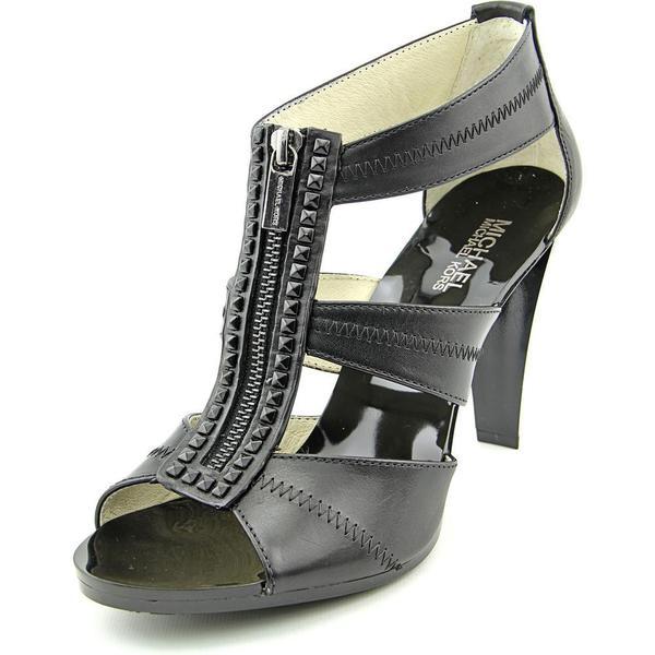 Michael Michael Kors Women's 'Berkley T Strap Platform' Leather Dress Shoes