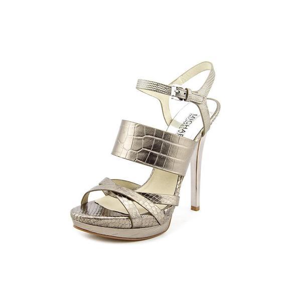 Michael Michael Kors Women's 'Nadja Platform' Leather Dress Shoes