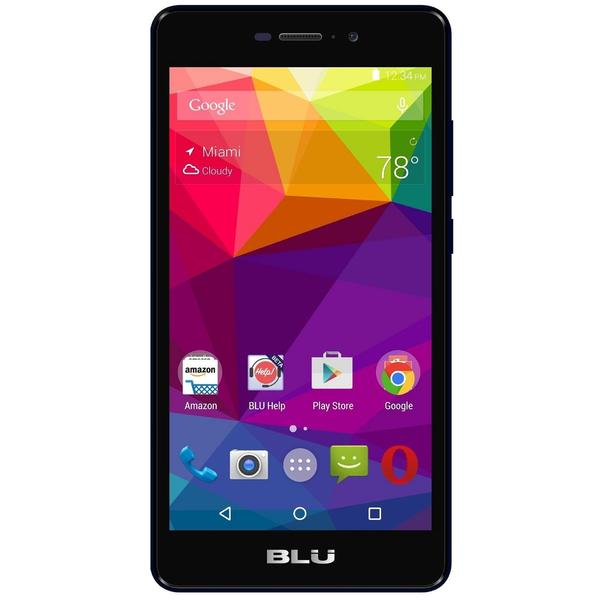 BLU Life XL L0050UU 16GB Unlocked GSM 4G LTE Cell Phone With Retail Packaging - Black