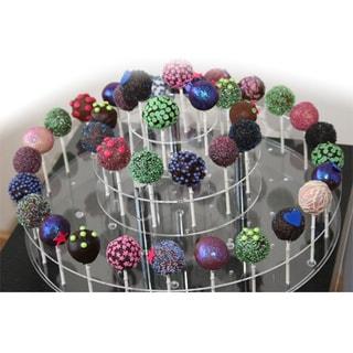 Cake Pops Acrylic 52-Pop Display Stand