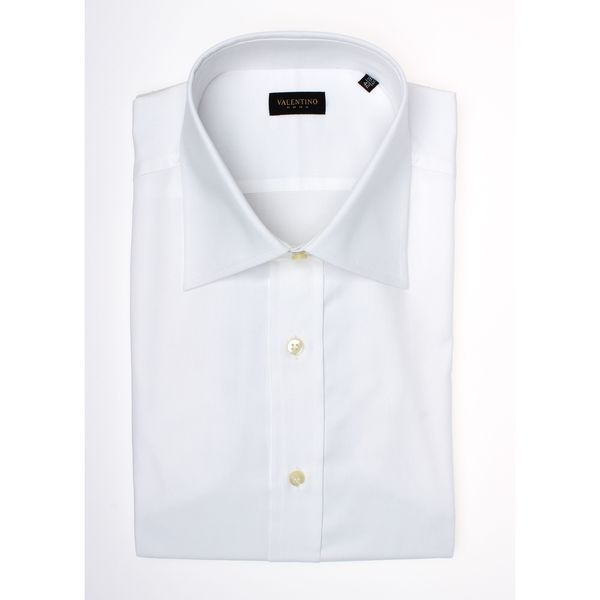 Valentino Men's Regular Fit Cotton Dress Shirt
