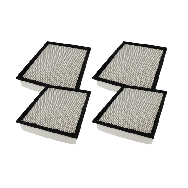 4 Flexible Panel Air Filters Fit Bluebird Cadillac Chevrolet Chassis and GMC Compare to Part # A45315 and CA8755A 17569762