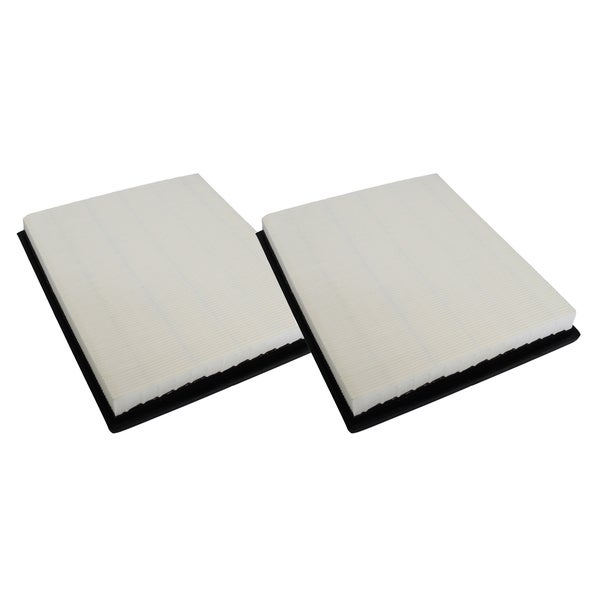 2 Plastisol Air Filters Fit Infiniti Jeep Nissan and Suzuki Compare to Part # A44727 and CA7440 17569797